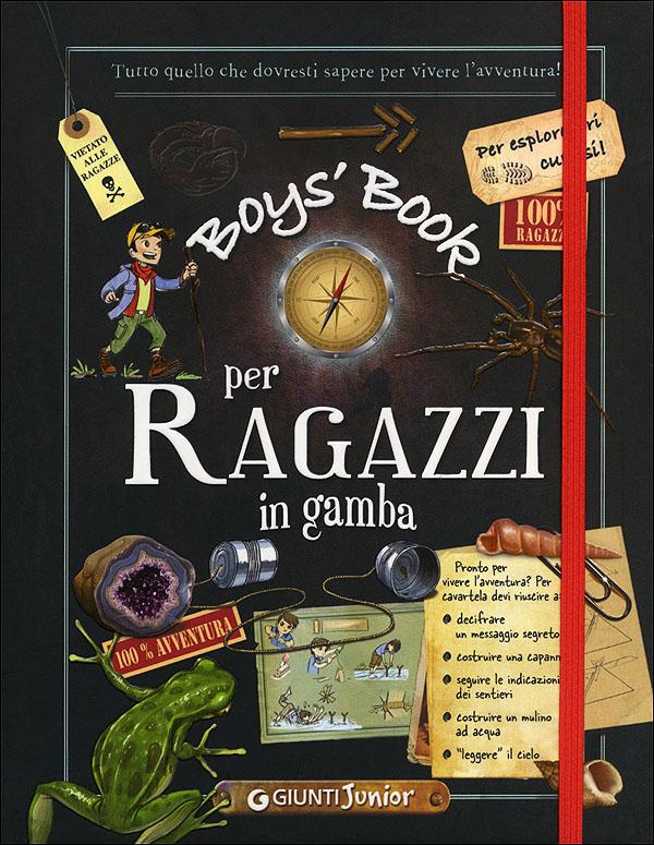 Boy's book per ragazzi in gamba