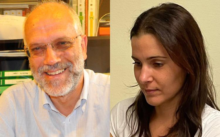 Fabio Comunello e Marzia Settin