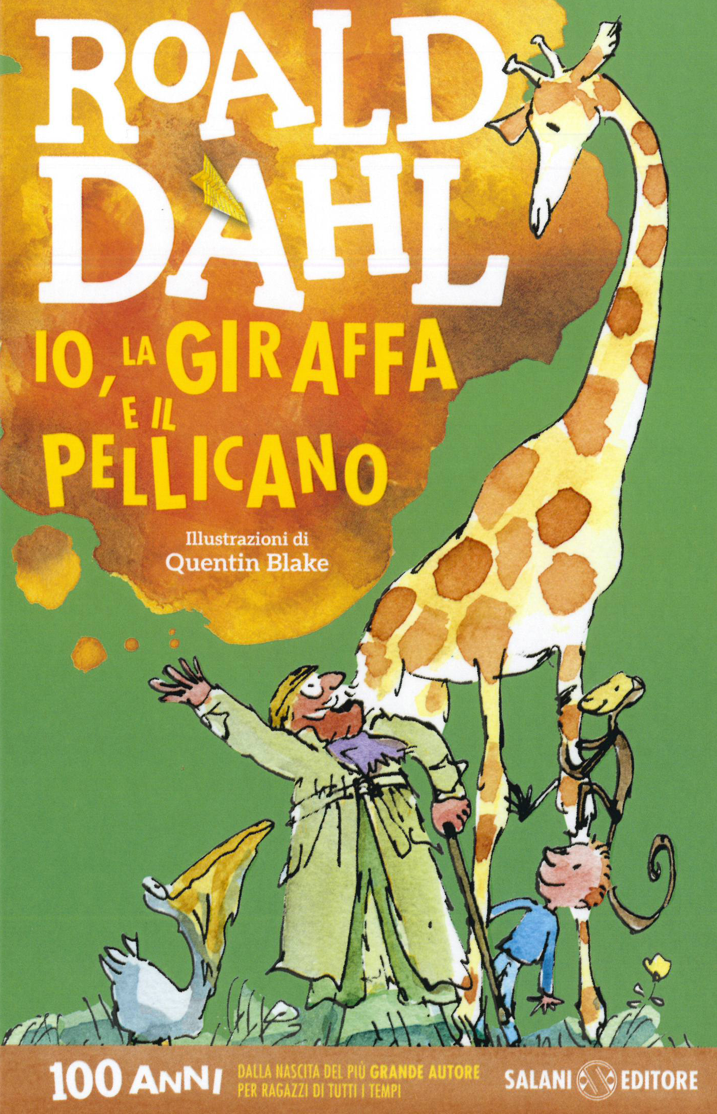 Io, la giraffe e il pellicano