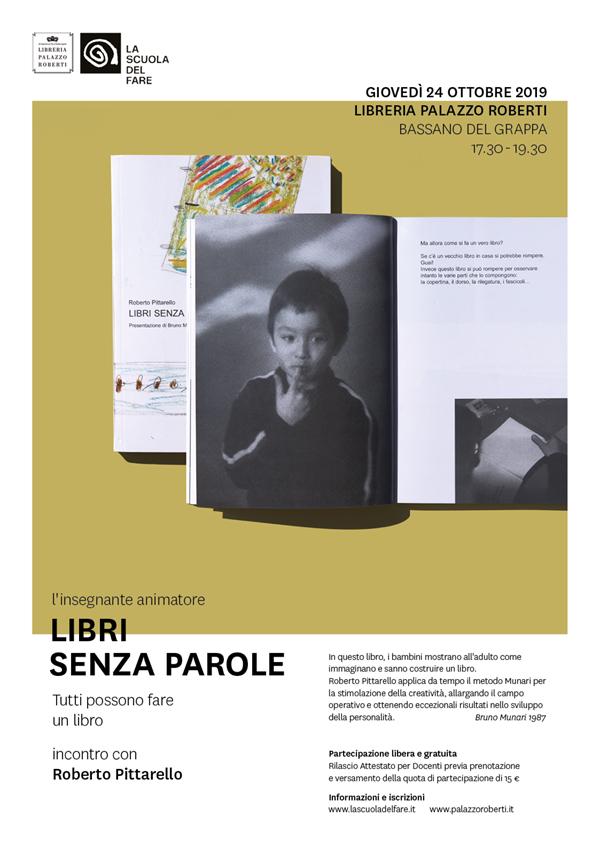 Roberto Pittarello: Libri Senza Parole